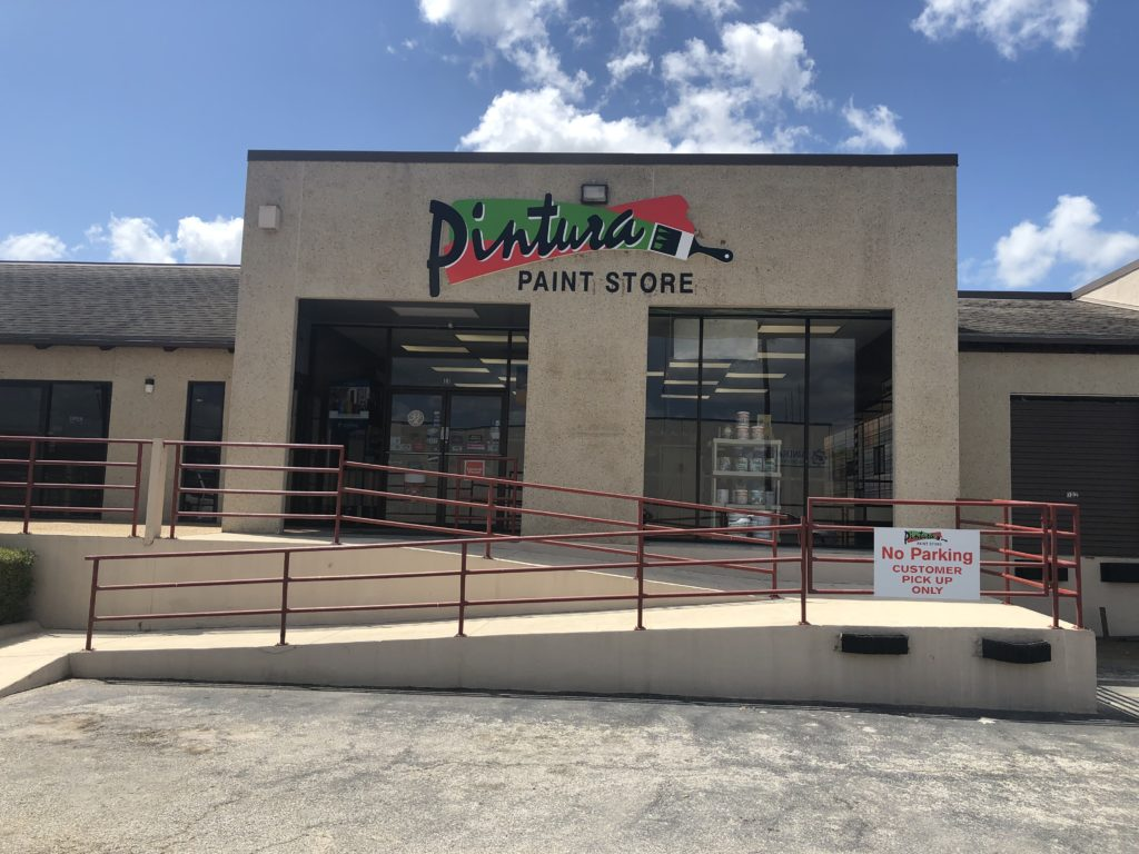 paint store 410 and vance jackson